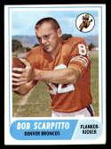 1968 Topps #147 Bob Scarpitto EX/NM Denver Broncos