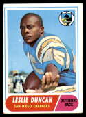 1968 Topps #167 Speedy Duncan VG/EX Very Good/Excellent San Diego Chargers