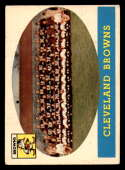 1958 Topps #9 Browns Team VG/EX Very Good/Excellent Cleveland Browns