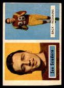 1957 Topps #98 Joe Scudero DP hand cut Washington Redskins
