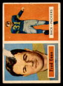 1957 Topps #107 Fred Cone DP P Poor Green Bay Packers