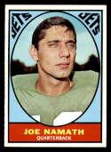 1967 Topps #98 Joe Namath EX Excellent New York Jets