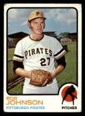 1973 Topps #657 Bob Johnson VG/EX Very Good/Excellent Pittsburgh Pirates