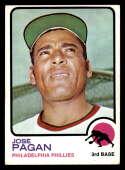 1973 Topps #659 Jose Pagan EX/NM Philadelphia Phillies