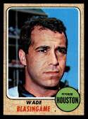 1968 Topps #507 Wade Blasingame 0.8 Houston Astros