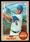 1968 Topps #510 Ron Fairly NM Near Mint Los Angeles Dodgers