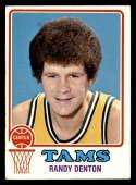1973-74 Topps #211 Randy Denton EX/NM Memphis Tams