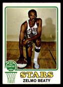 1973-74 Topps #225 Zelmo Beaty VG/EX Very Good/Excellent Utah Stars
