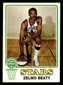 1973-74 Topps #225 Zelmo Beaty EX/NM Utah Stars
