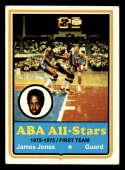 1973-74 Topps #260 James Jones EX Excellent Utah Stars