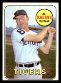 1969 Topps #410 Al Kaline VG Very Good Detroit Tigers