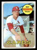 1969 Topps #415 Ray Washburn VG/EX Very Good/Excellent St. Louis Cardinals