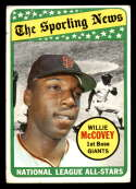 1969 Topps #416 Willie McCovey AS G/VG Good/Very Good San Francisco Giants