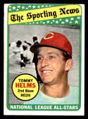 1969 Topps #418 Tommy Helms AS EX Excellent Cincinnati Reds
