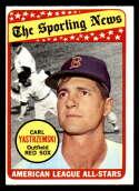 1969 Topps #425 Carl Yastrzemski AS EX/NM Boston Red Sox