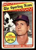 1969 Topps #425 Carl Yastrzemski AS G Good Boston Red Sox