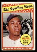 1969 Topps #427 Tony Oliva AS EX Excellent Minnesota Twins